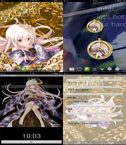 Android动态壁纸 桌面闹钟 ChronoClock LiveWallpaper & WidgetClock